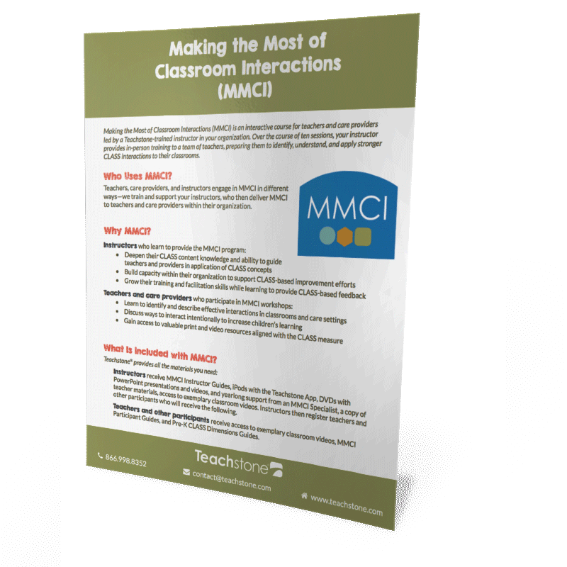 What is Making the Most of Classroom Interactions (MMCI)?