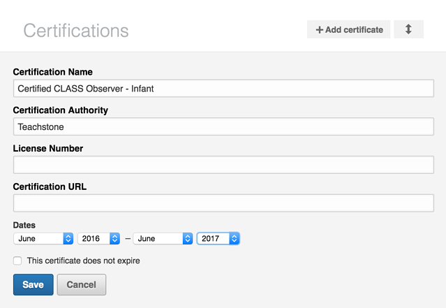 How to add a certification to your LinkedIn profile
