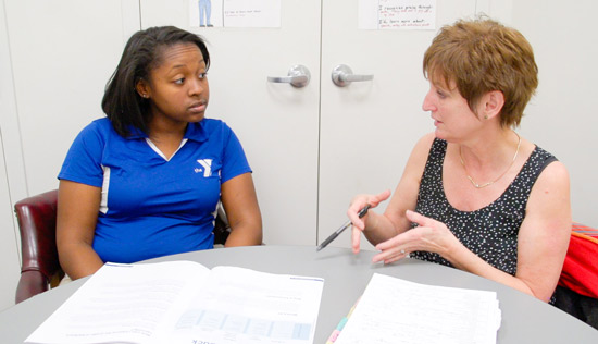 Maintaining a healthy work-home balance is an important part of this educational coach's job.